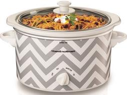 Slow Cooker Oval 3qt Hamilton Beach Holiday Party Buffet Din