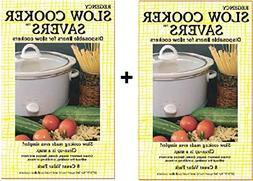 Slow Cooker Savers- 16 Disposable Liners for Slow Cookers by