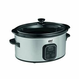 BEKO Slow Cooker SCM3622X 6 litre capacity Low High Warm set
