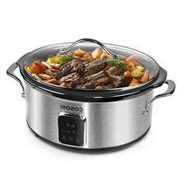 COSORI Slow Cooker with Programmable Cook, Digital Timer, St