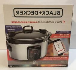 Slow Cooker WiFi-Enabled 6-Quart Crock Pot Programmable Kitc