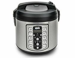 Slow Rice Cooker Digital Food Steamer 20 Cup Kitchen Meat Ve