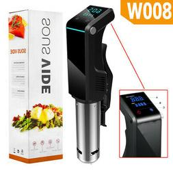 Sous Vide Precision Cooker Immersion Circulator 800W LED Dis