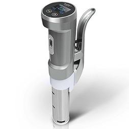 Nutrichef Sous Vide Thermal Immersion Circulator, Stainless,