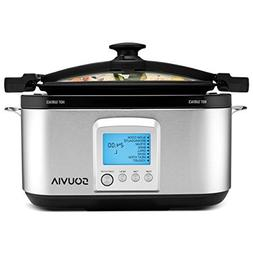 Souvia 8 in 1 Multi Cooker – 7 Quart - Programmable LCD Co