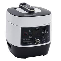 Midea Stainless Steel 8-in-1 Programmable Pressure Cooker, 6