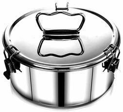 Easyshopforeveryone Stainless Steel Flan Mold Cheesecake Qui