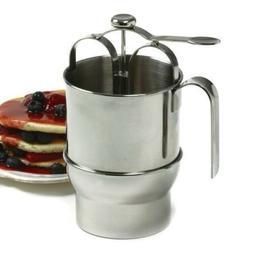 stainless steel jumbo pancake dispenser