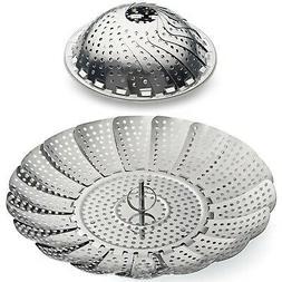 Stainless Steel Vegetable Steamer Basket Insert for Pots, Pa
