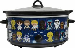 Star Wars 7 Quart Slow Cooker- Easy Cooking Across the Galax