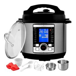 ChefWave 6Qt 10-in-1 Multi-Use Digital Programmable Pressure