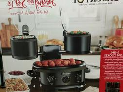 Crock-Pot Swing and Serve Slow Cooker SCCPTOWER-B