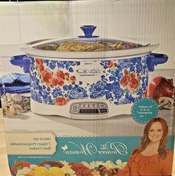 The Pioneer Woman - Frontier Rose - 7Qt Programmable Slow Co
