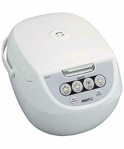 Tiger 5.5-Cup Micom Rice Cooker with Food Steamer and Slow C