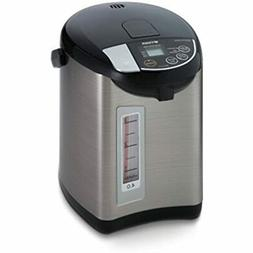 Tiger PDU-A40U-K Electric Water Boiler Warmer, Stainless Bla