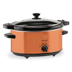 Toastmaster TM-402SCCP Slow Cooker, 4 Quart, Copper