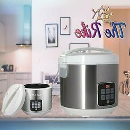 Tayama TRC-55HC 10 Cup Digital Rice Cooker & Food Steamer, W