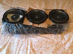TRU Triple Slow Cooker Crock Pot Buffet Server Set - 3 x 2.5