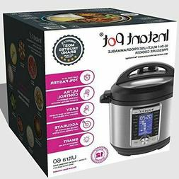 Instant Pot Ultra 6 Qt 10-in-1 Multi- Use Programmable Press