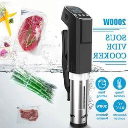 Vacuum <font><b>Slow</b></font> Sous Vide Food <font><b>Cook