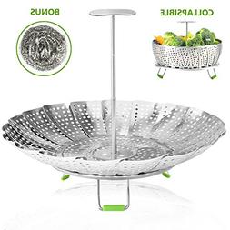 Vegetable Steamer Basket Stainless Steel Steamer Insert for