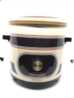vintage rival crockpot slow cooker Model 3100
