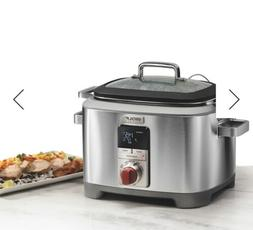 WOLF Gourmet WGSC100S, Multi Function Cooker, Slow Cook Red