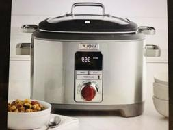 WOLF GOURMET WGSC100S MULTI FUNCTION SLOW COOKER