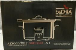 Williams-Sonoma All-Clad 4 Quart Deluxe Slow Cooker W/Cast-A