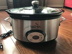 Williams Sonoma All-Clad 7 QT Quart Electric Slow Cooker